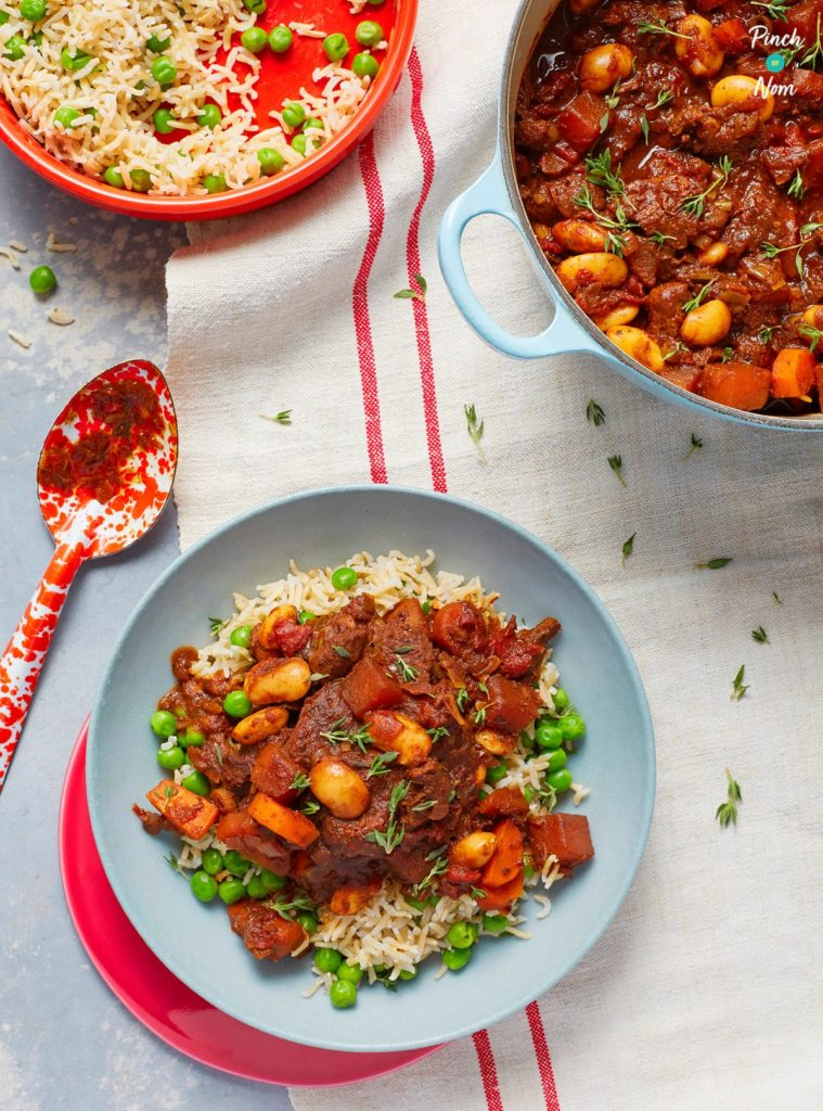 Caribbean Jerk Stew - Pinch of Nom Slimming Recipes