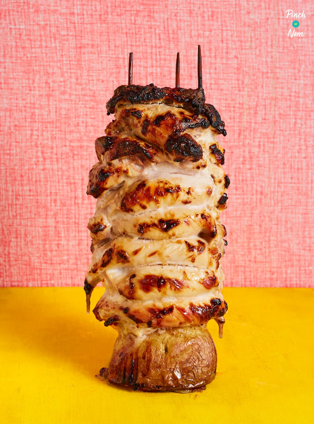 Chicken Kebab - Pinch of Nom Slimming Recipes