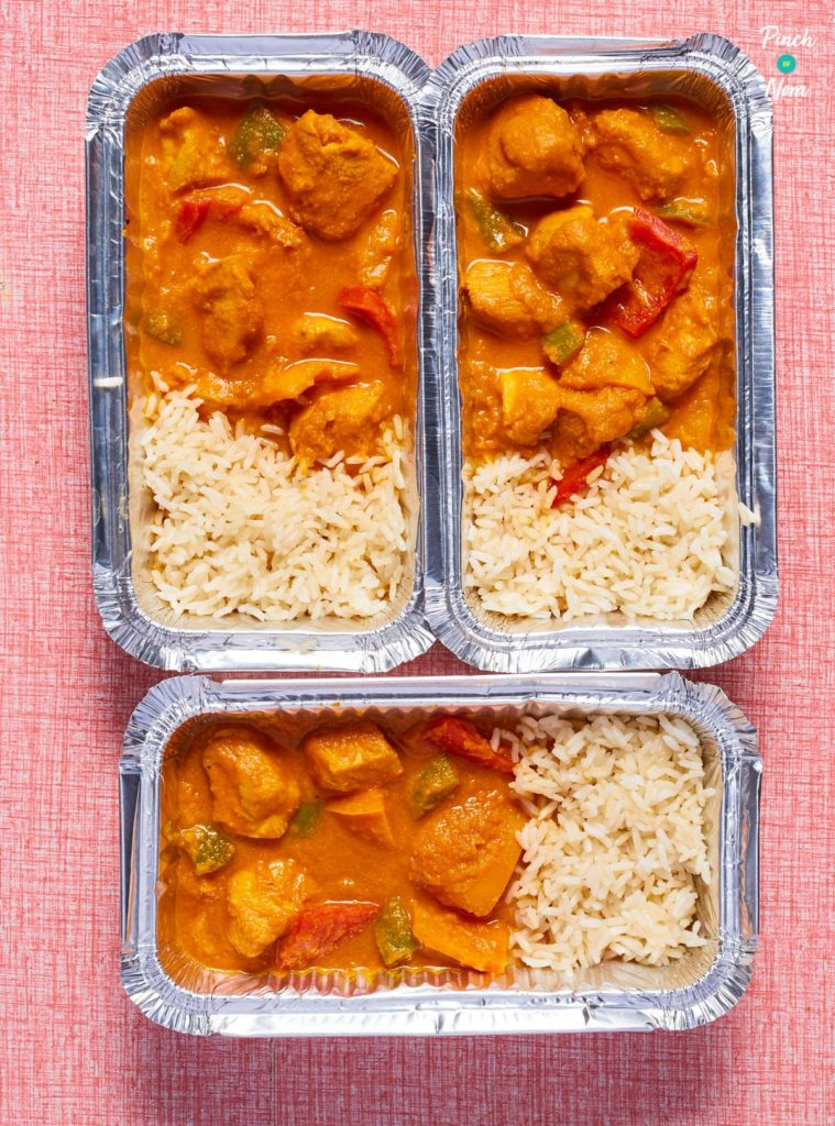 Chicken Korma Curry - Pinch of Nom Slimming Recipes