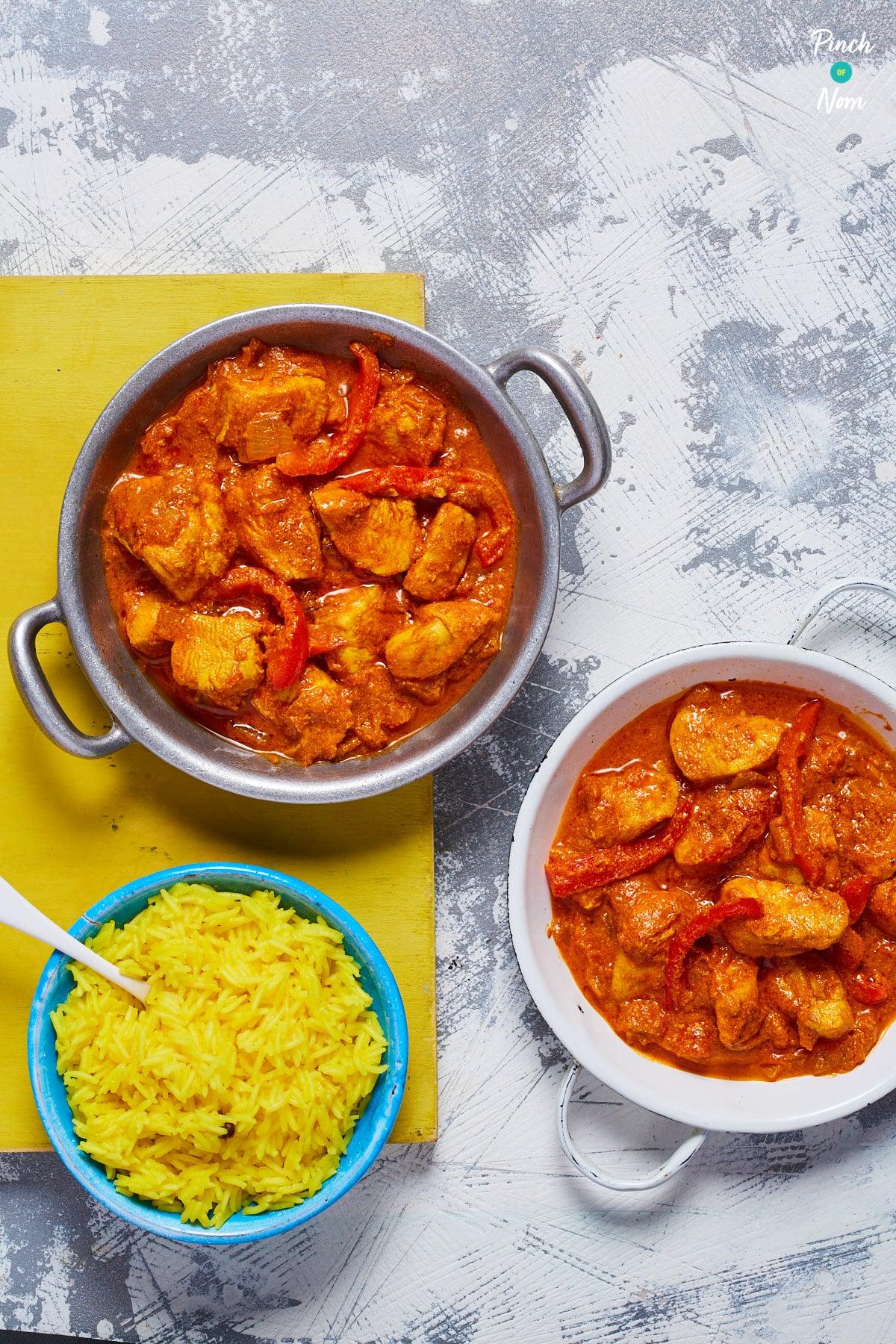 Chicken Tikka Masala Curry - Pinch of Nom Slimming Recipes
