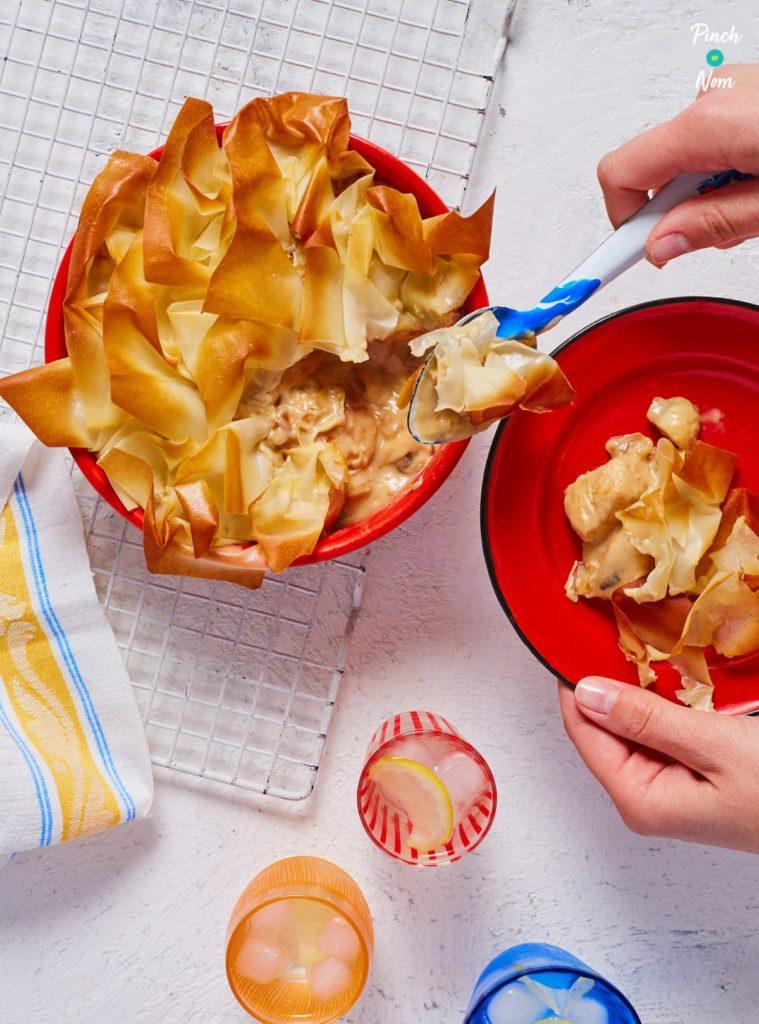 Chicken and Mushroom Pie - Pinch of Nom Slimming Recipes