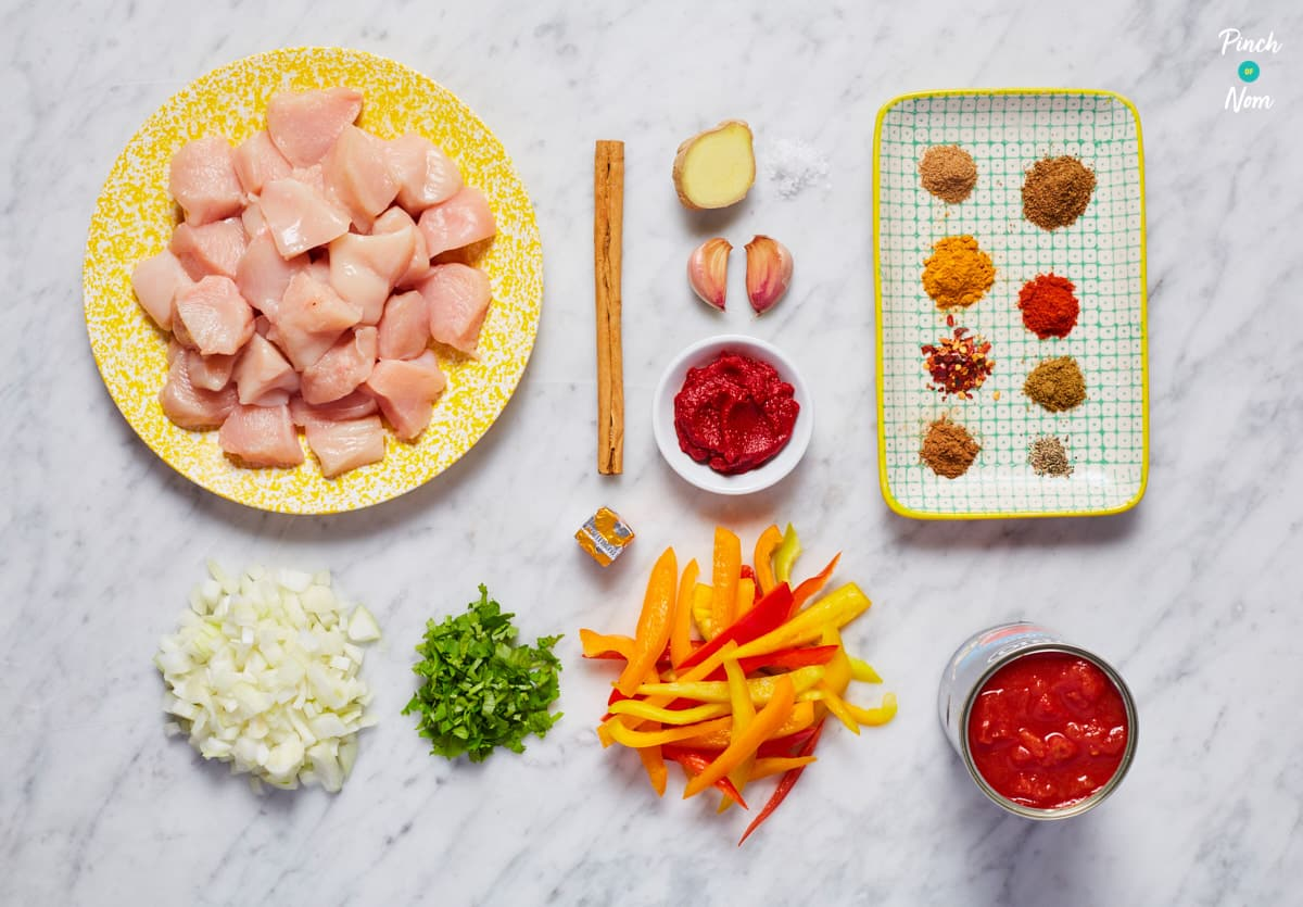 Chicken Balti Curry - Pinch of Nom Slimming Recipes