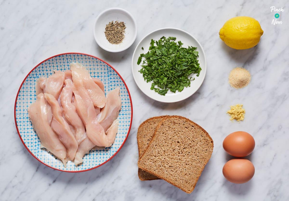 Chicken Goujons - Pinch of Nom Slimming Recipes