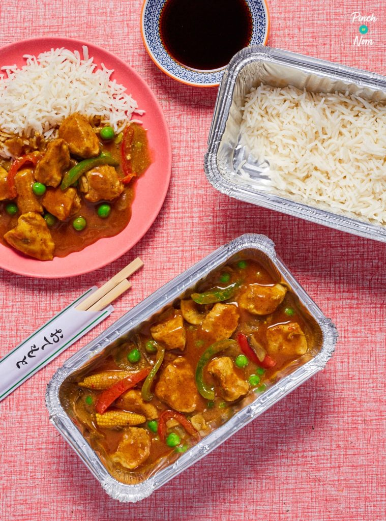 Chinese Chicken Curry - Pinch of Nom Slimming Recipes