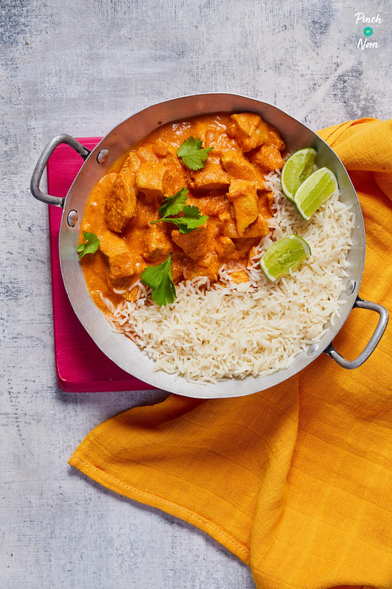Creamy Butter Chicken-1 - Pinch of Nom Slimming Recipes