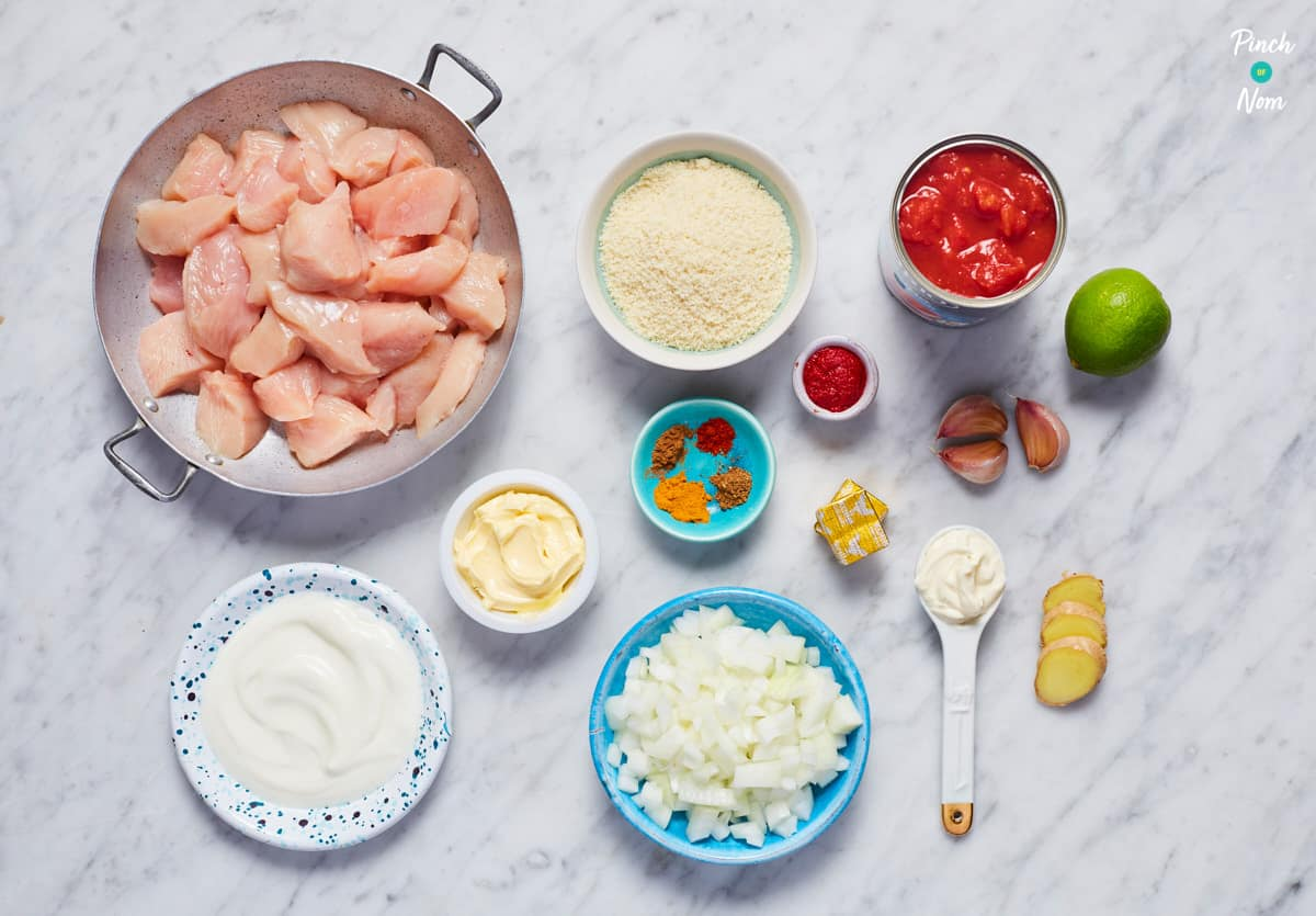 Creamy Butter Chicken - Pinch of Nom Slimming Recipes