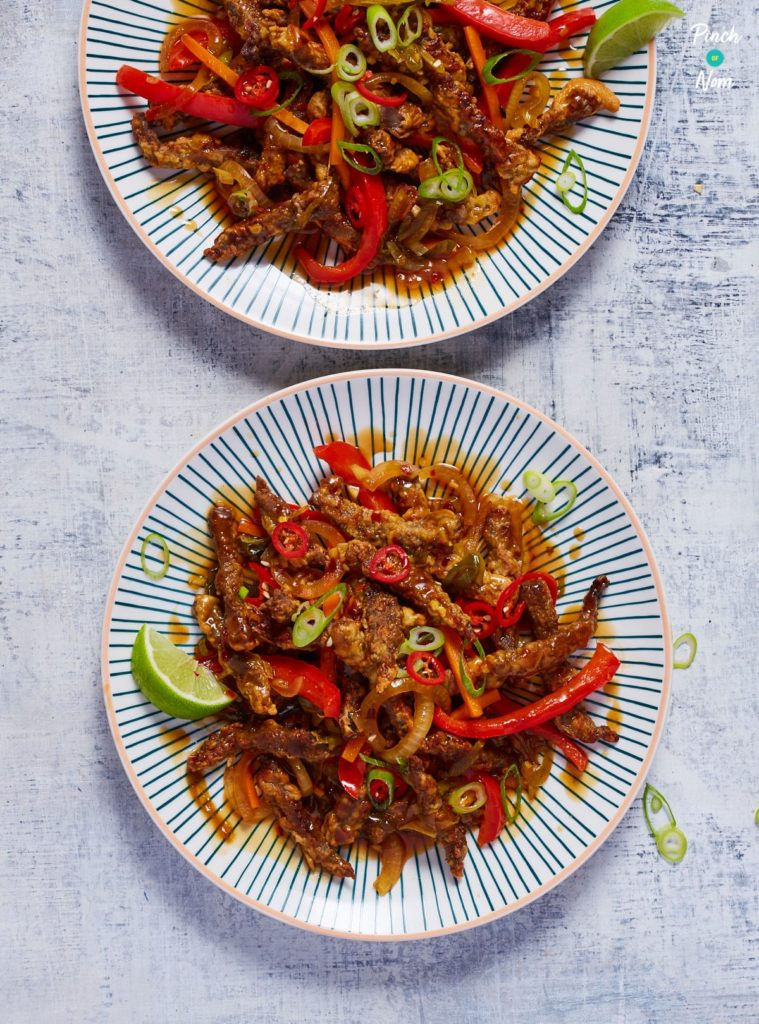 Crispy Chilli Beef - Pinch of Nom Slimming Recipes