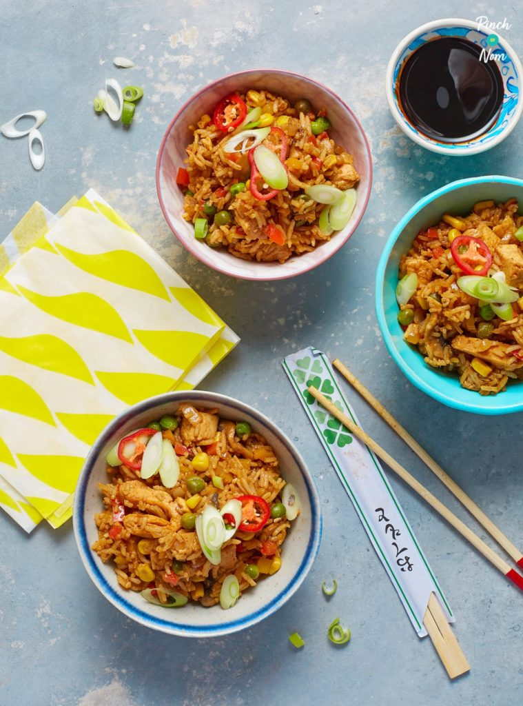 Fakeaway Fried Rice - Pinch of Nom Slimming Recipes