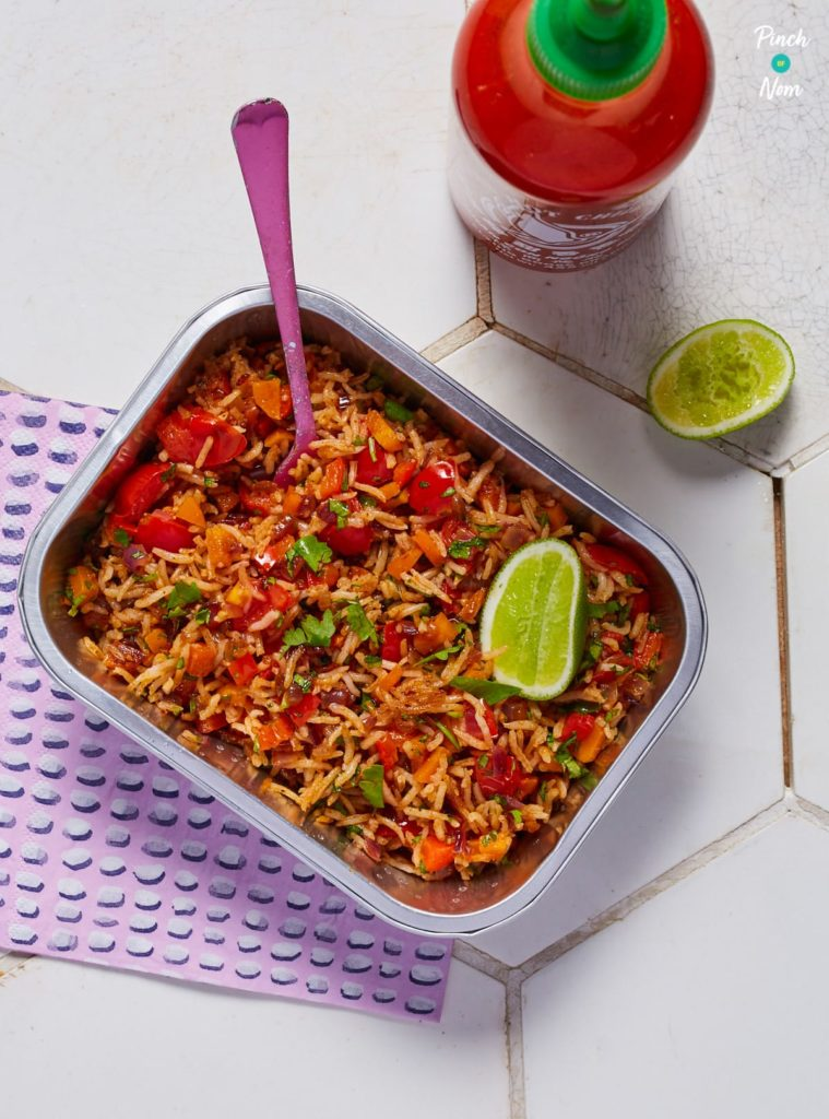 Indian Fried Rice - Pinch of Nom Slimming Recipes
