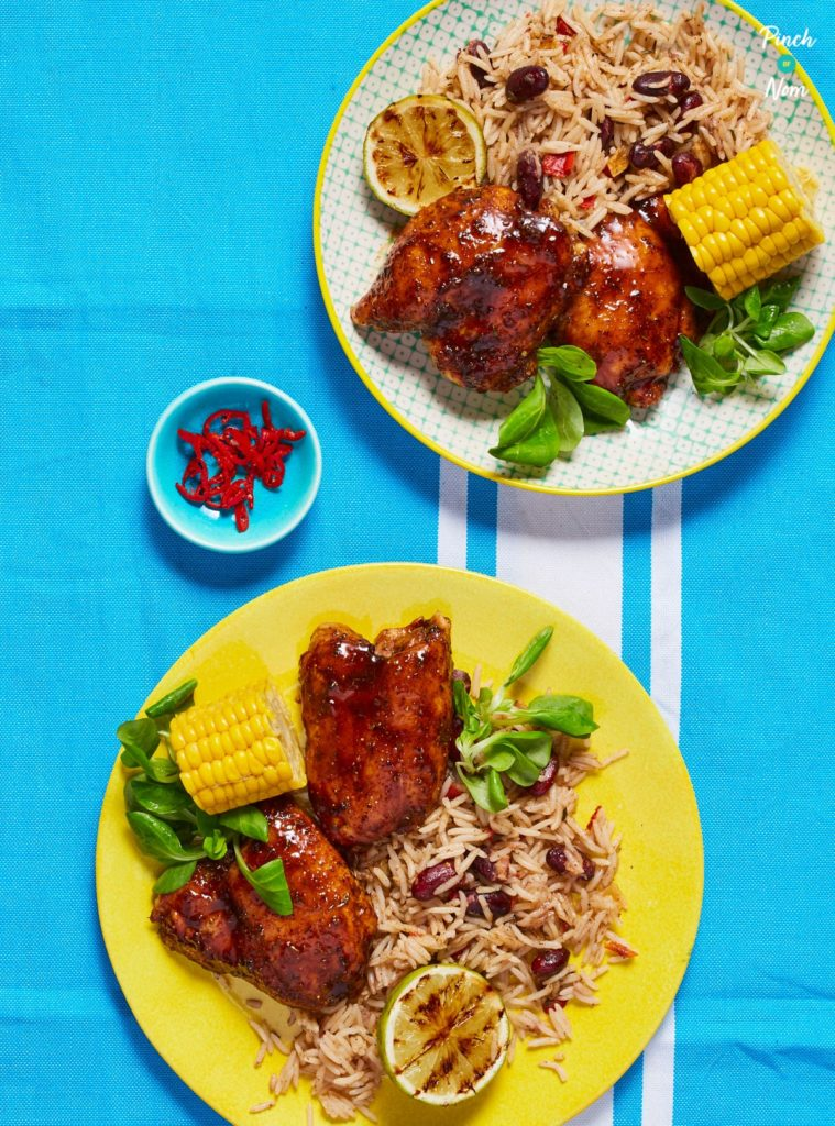 Jerk Chicken - Pinch of Nom Slimming Recipes