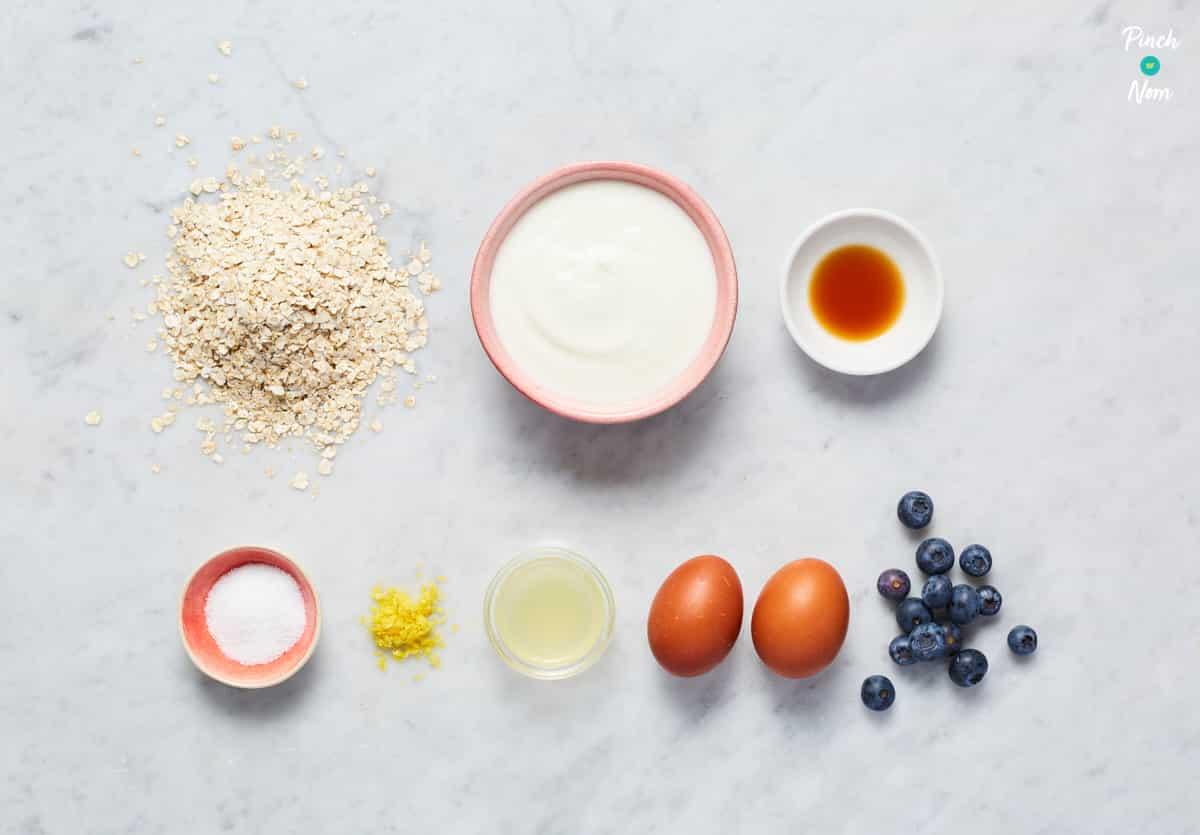 Lemon Blueberry Baked Oats_045_Pinch of Nom Slimming Recipes