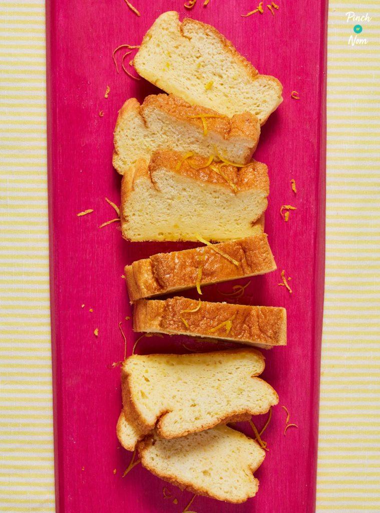 Lemon Drizzle Cake pinchofnom.com