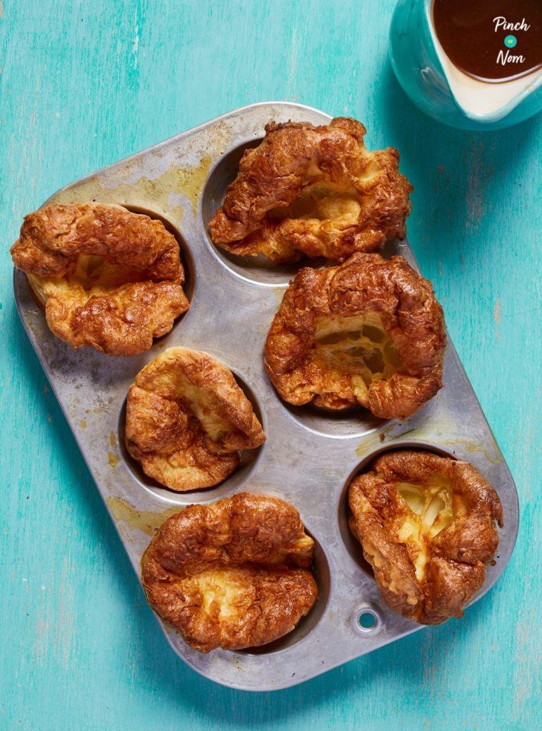 Lighter Yorkshire Puddings - Pinch of Nom Slimming Recipes