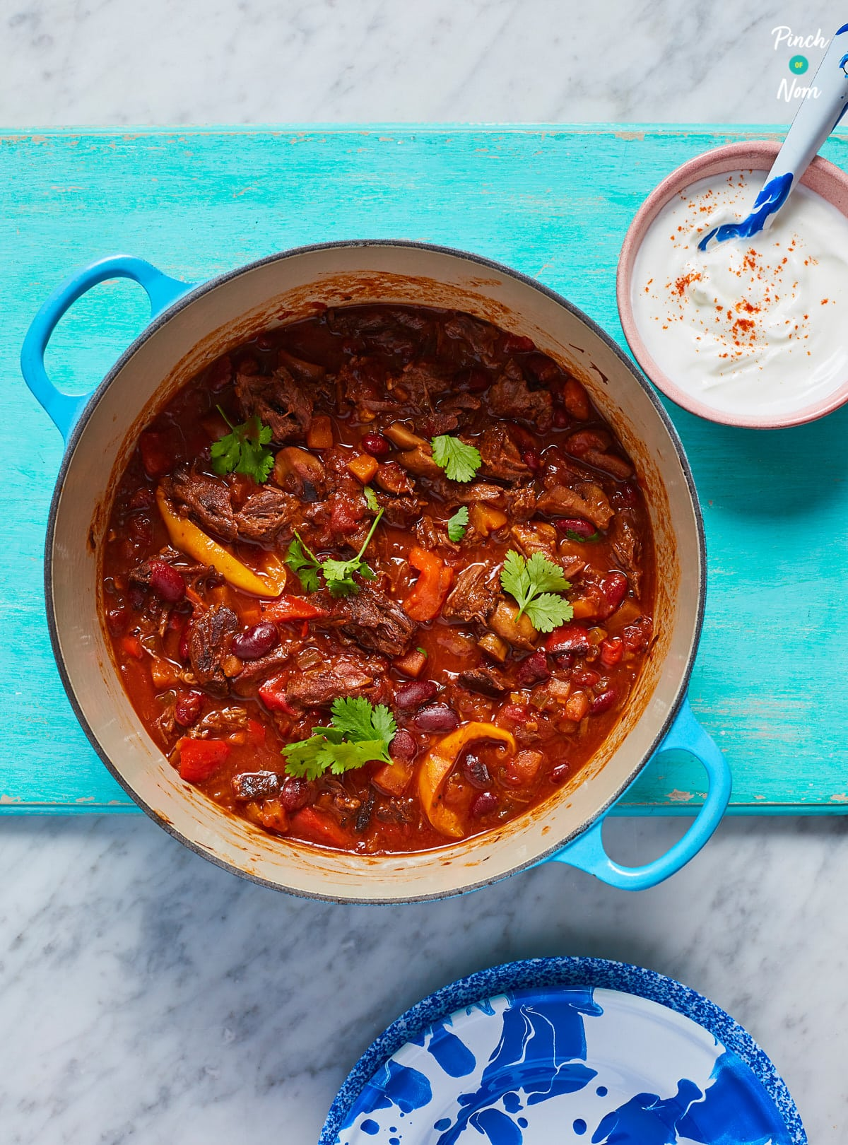 Mexican Chilli Beef - Pinch of Nom Slimming Recipes