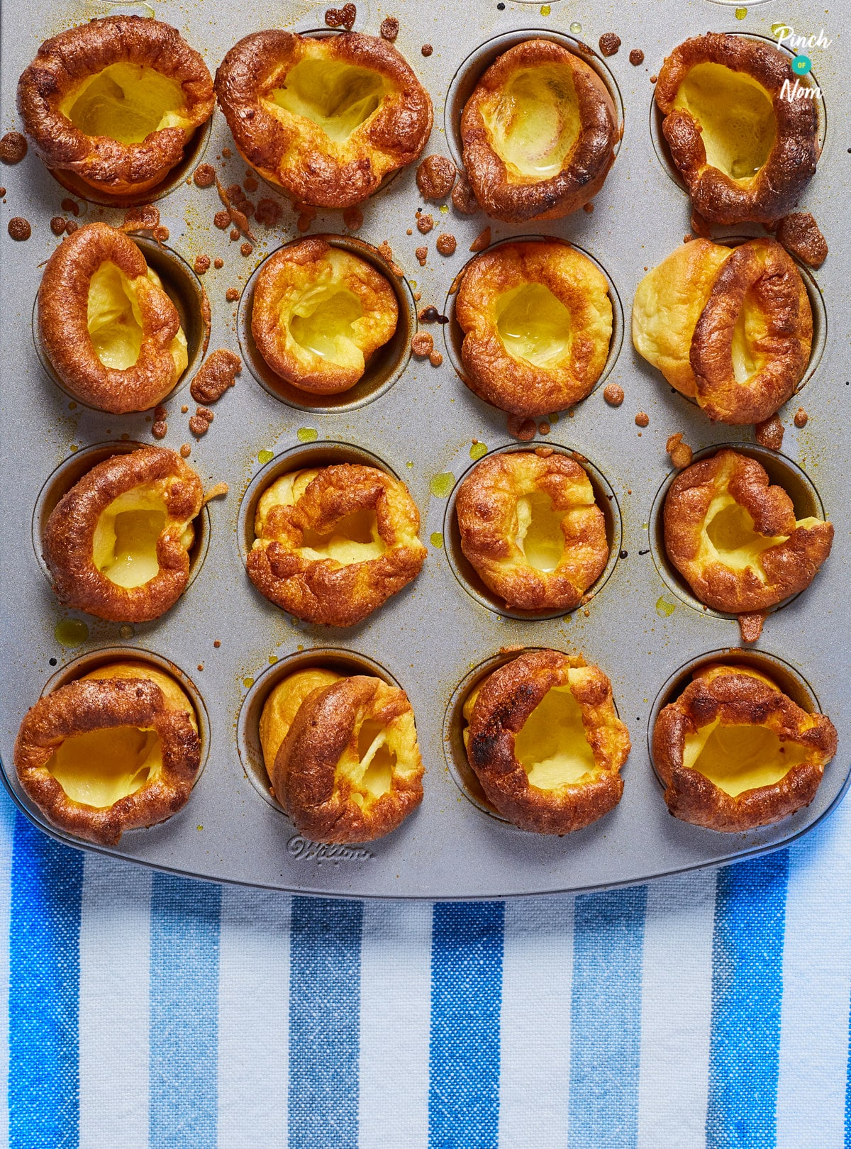 Mini Yorkshire Puddings pinchofnom.com