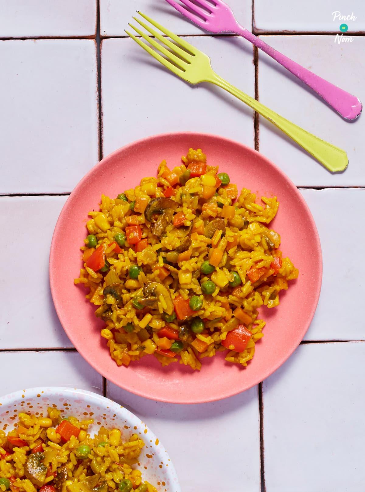 Savoury Rice - Pinch of Nom Slimming Recipes