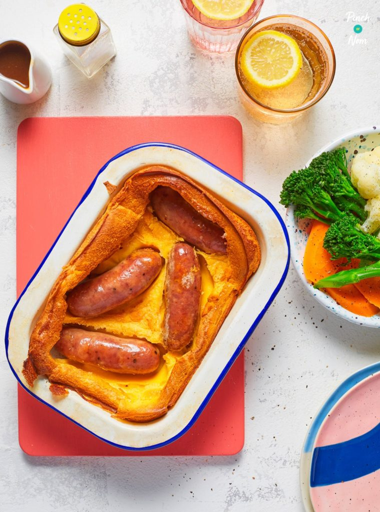Toad In The Hole - Pinch of Nom Slimming Recipes