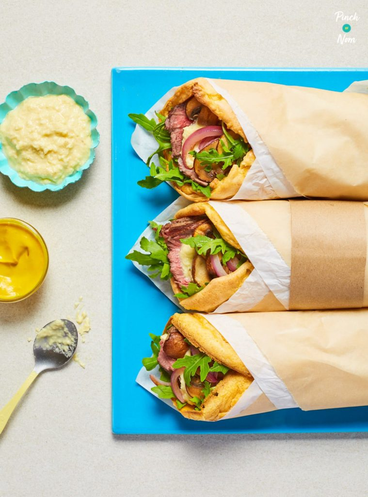 Yorkshire Pudding Wrap - Pinch of Nom Slimming Recipes