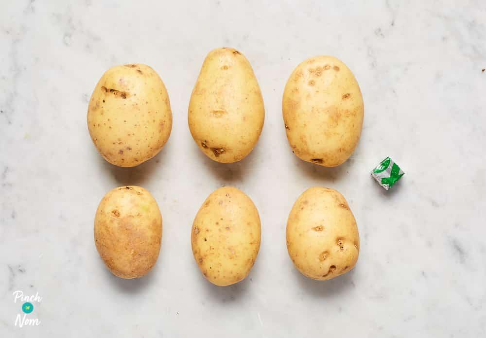 Fondant Potatoes - Pinch of Nom Slimming Recipes