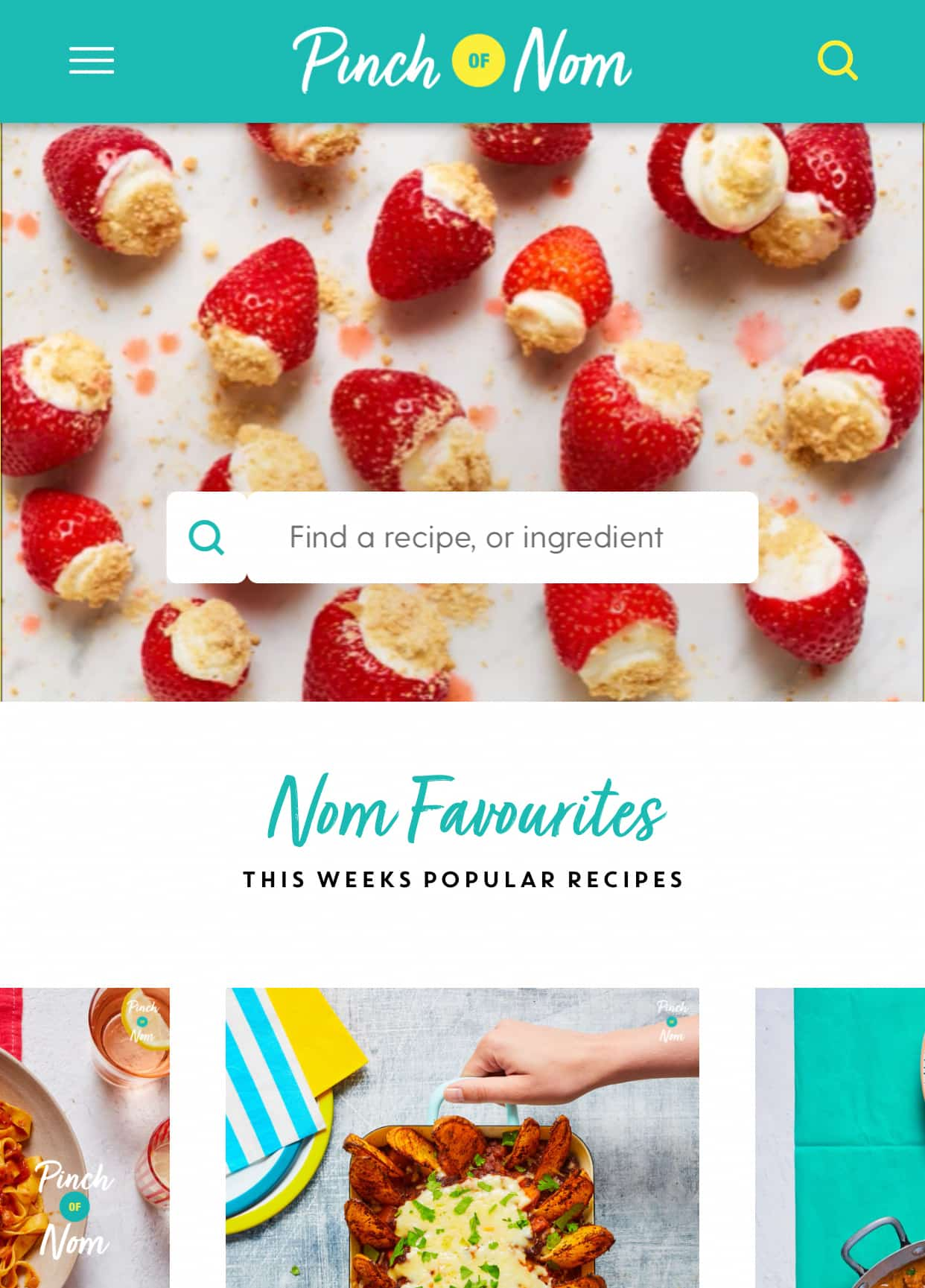 How to sign up and in to the website - Pinch of Nom