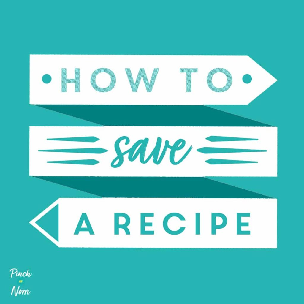How To Save Your Favourite Recipes - pinch of nom