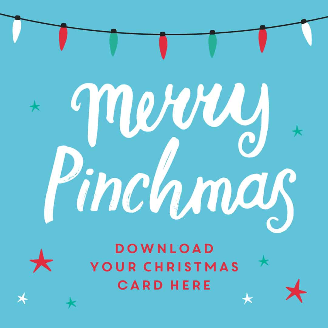 Merry Pinchmas! Download your Christmas Cards pinchofnom.com