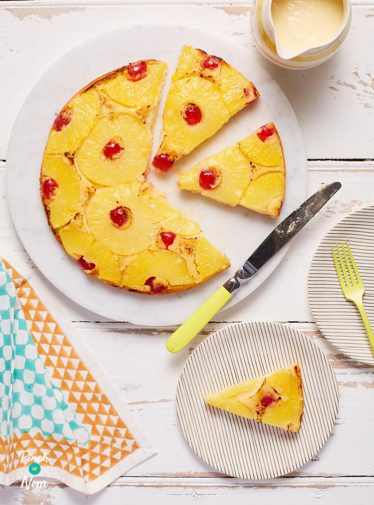 Pineapple Upside Down Cake - Pinch of Nom Slimming Recipes