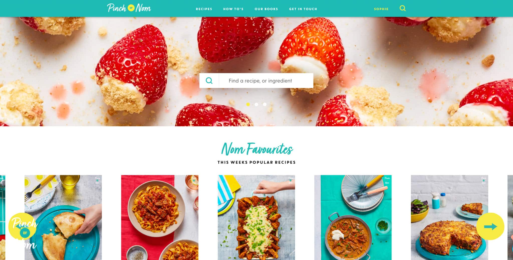 A guide to the new Pinch of Nom website | Pinch of Nom Slimming and Weight Watchers Friendly