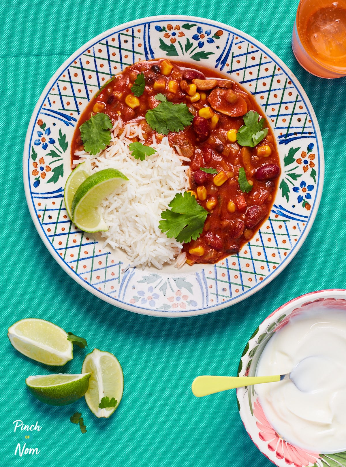 Vegan Chilli - Pinch of Nom Slimming Recipes