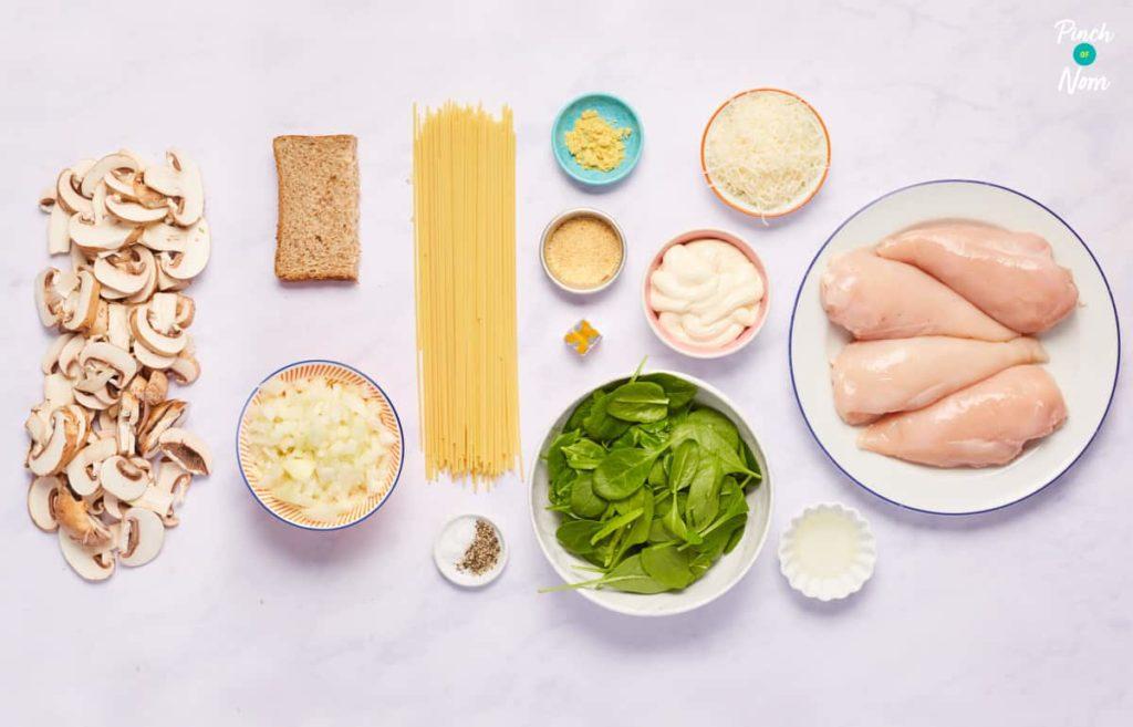 Chicken Tetrazzini - Pinch of Nom Slimming Recipes