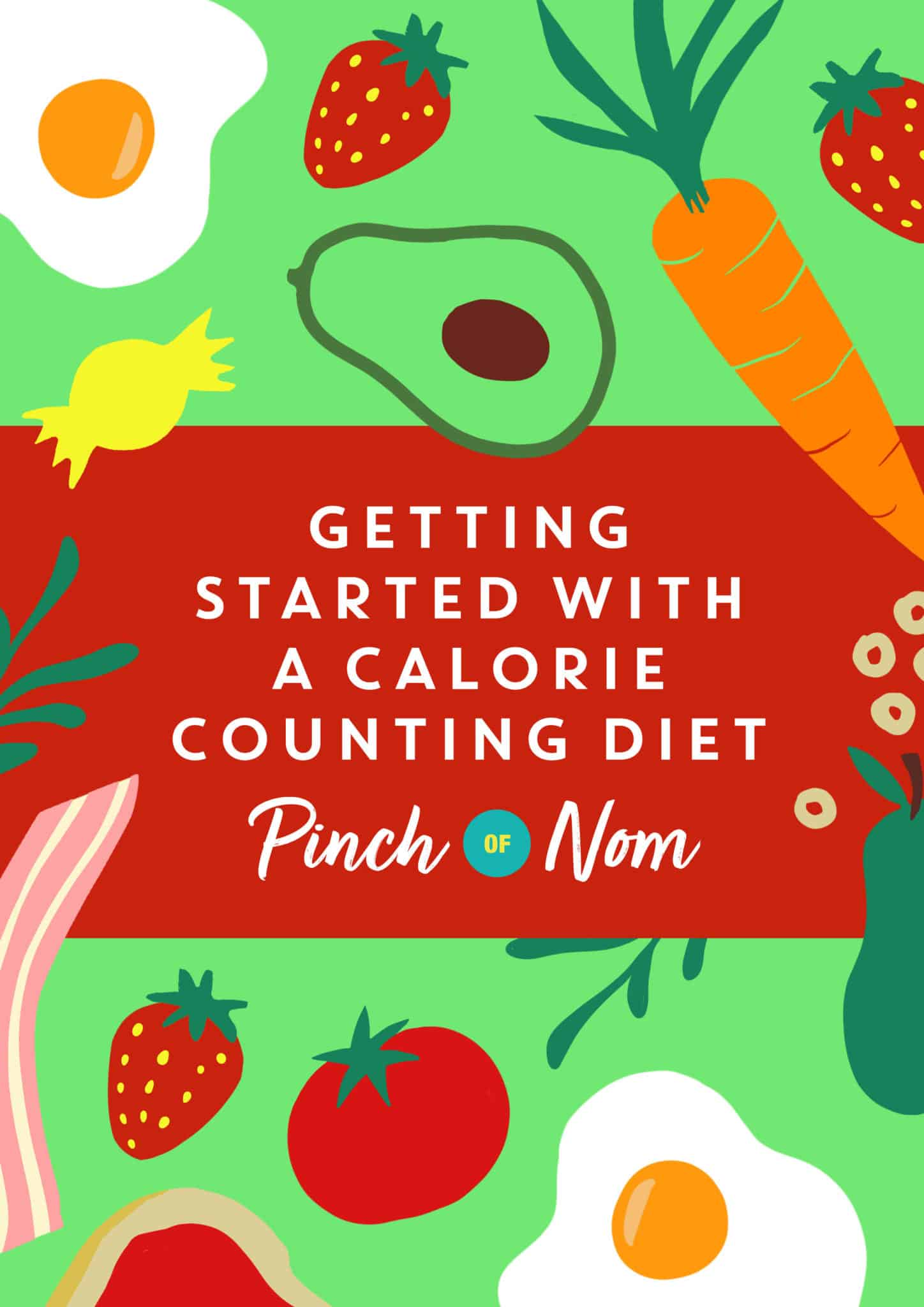 Getting started with a calorie counting diet | Pinch of Nom