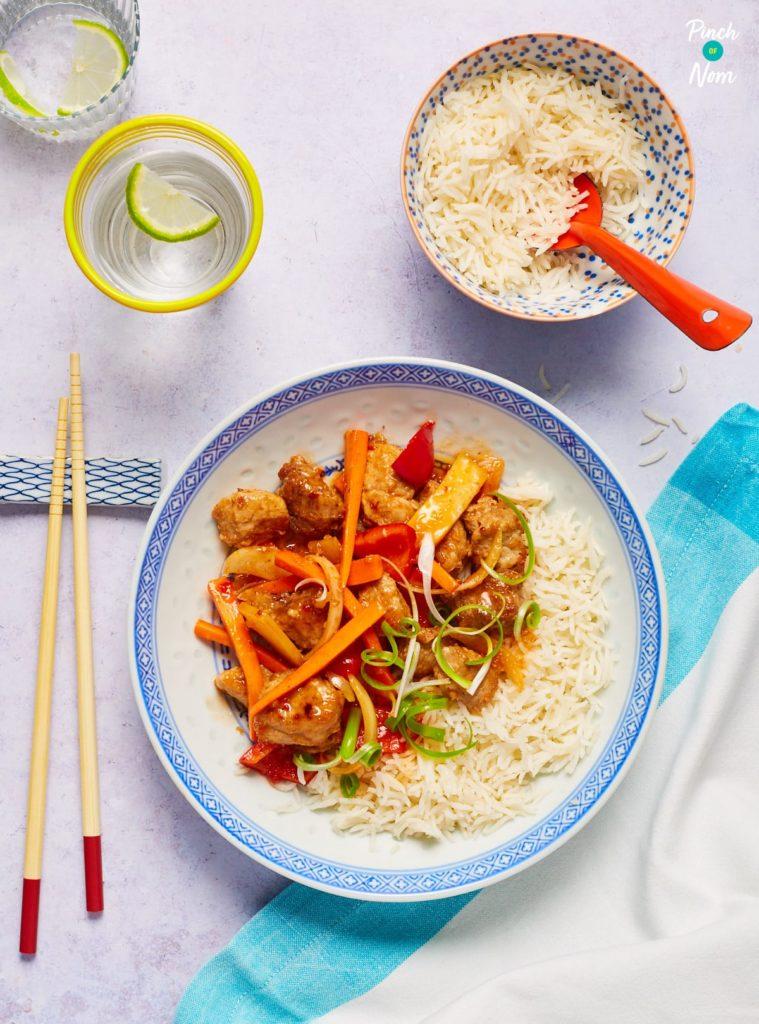 Kung Po Pork - Pinch of Nom Slimming Recipes