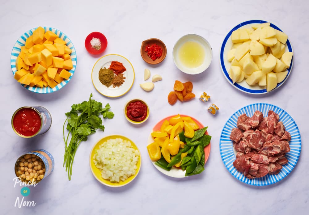 Moroccan Lamb Pie - Pinch of Nom Slimming Recipes