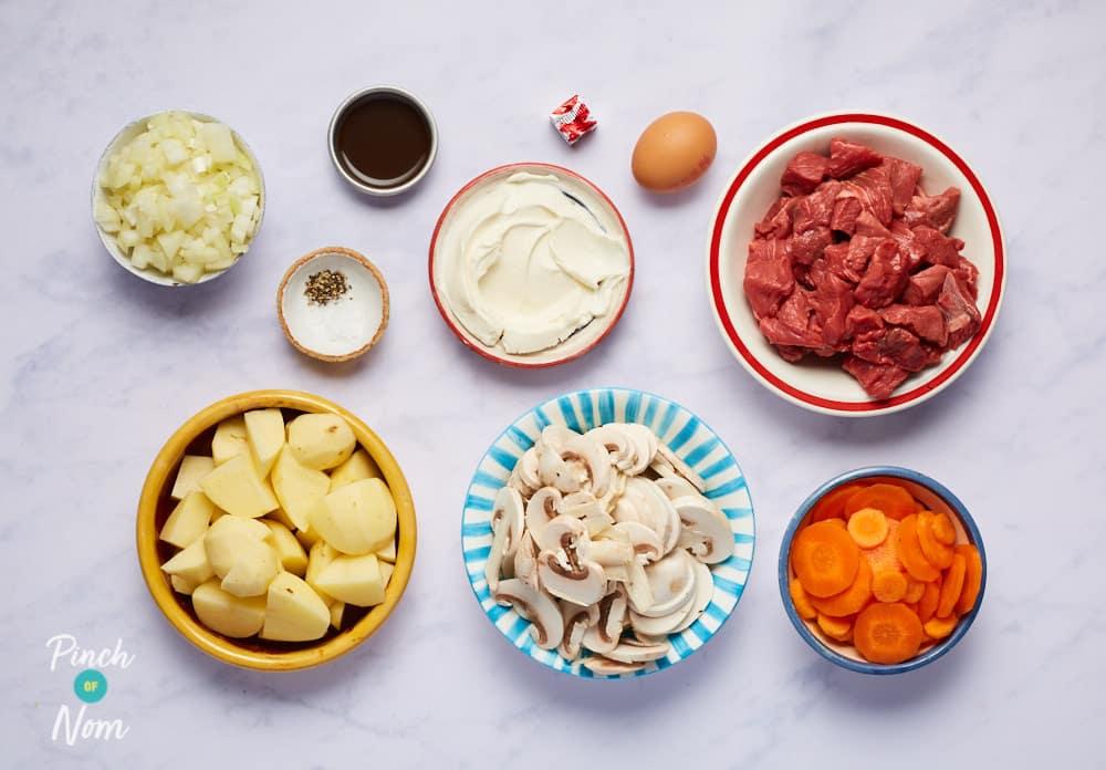 Steak and Pepper Pie - Pinch of Nom Slimming Recipes