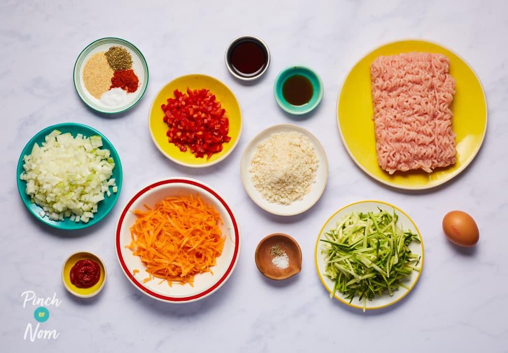 Turkey Meatloaf - Pinch of Nom Slimming Recipes