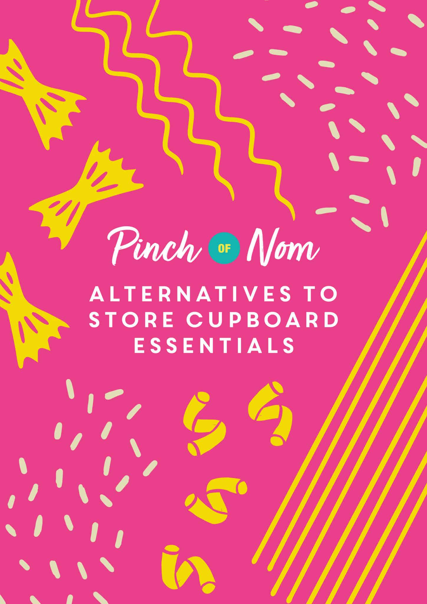 Alternatives to store cupboard essentials   Pinch of Nom Slimming Recipes