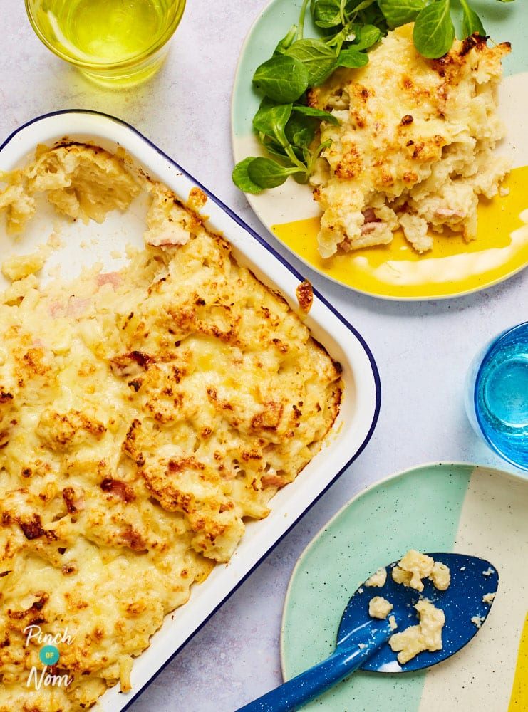 Cauli Mac and Cheese - Pinch of Nom Slimming Recipes