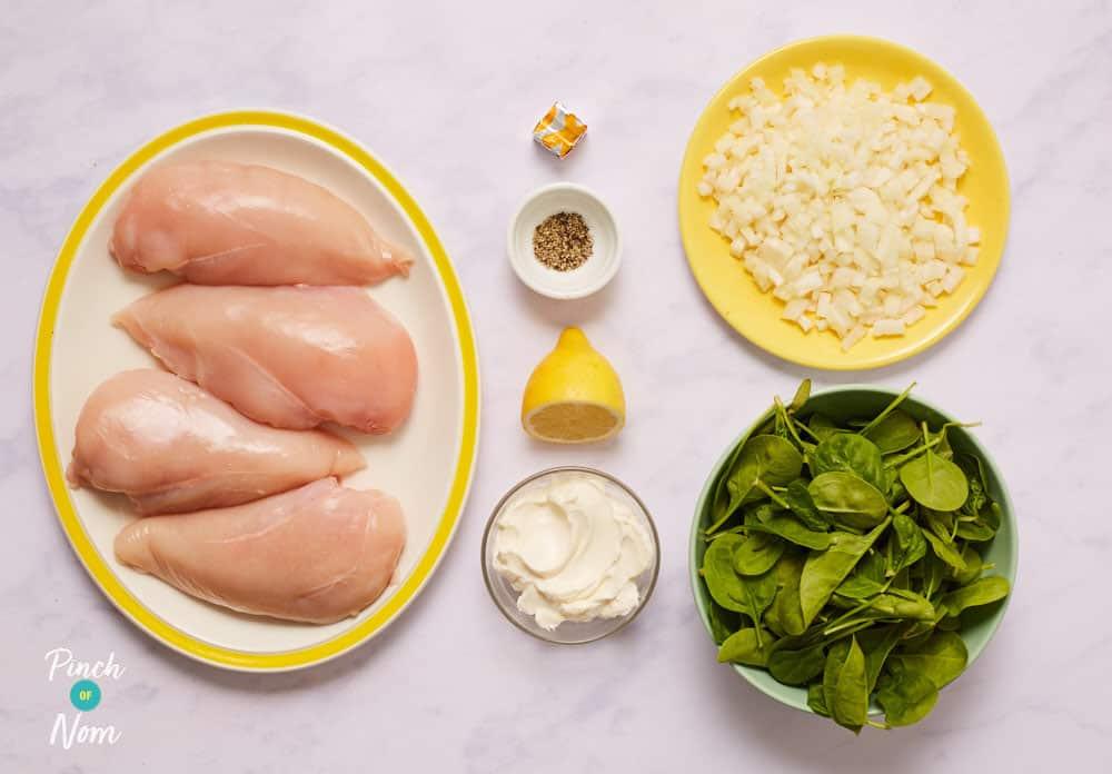 Creamy Lemon Chicken - Pinch of Nom Slimming Recipes