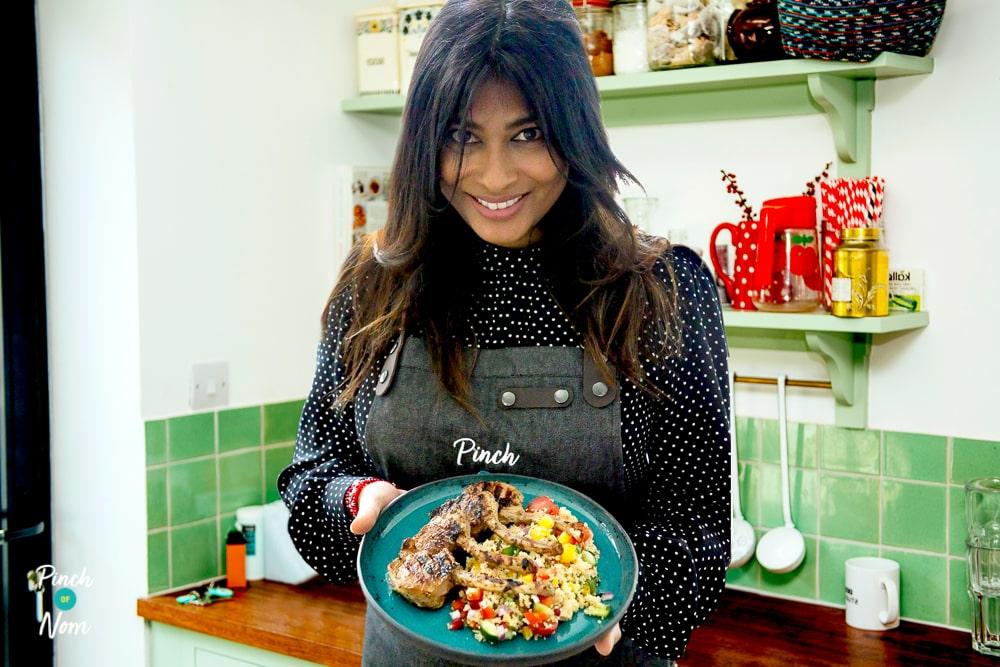 Nisha Katona - Sumac Lamb Chops pinchofnom.com