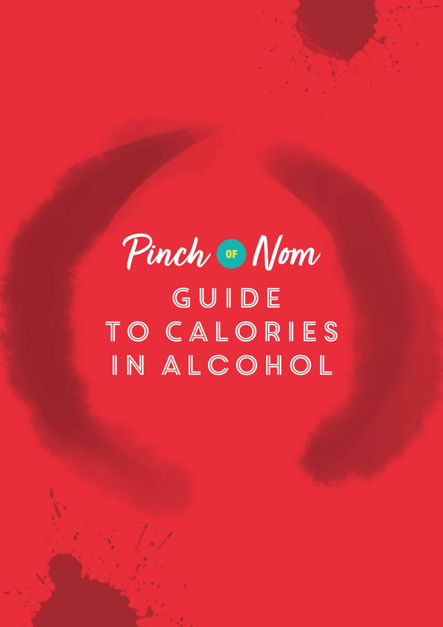 Guide to calories in alcohol | Pinch of Nom Slimming Recipes