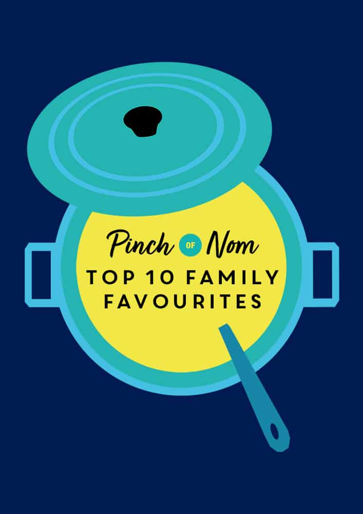 Top 10 Family Favourites | Pinch of Nom Slimming Recipes