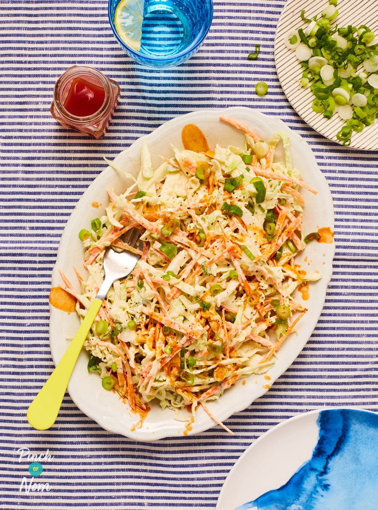 Buffalo Coleslaw - Pinch of Nom Slimming Recipes