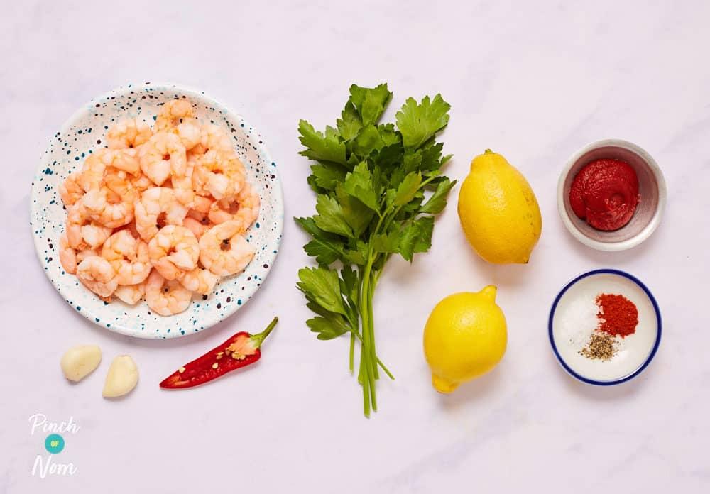 Garlic Chilli Prawns - Pinch of Nom Slimming Recipes