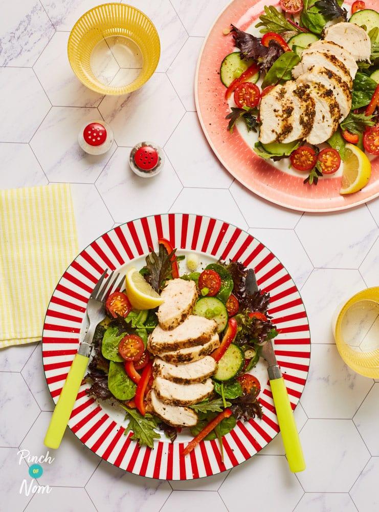 Herby Lemon Chicken Salad - Pinch of Nom Slimming Recipes