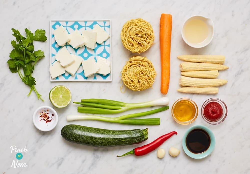 Bang Bang Noodles - Pinch of Nom Slimming Recipes