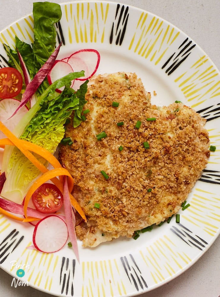 Cheesy Topped Chicken - Pinch of Nom Slimming Recipes