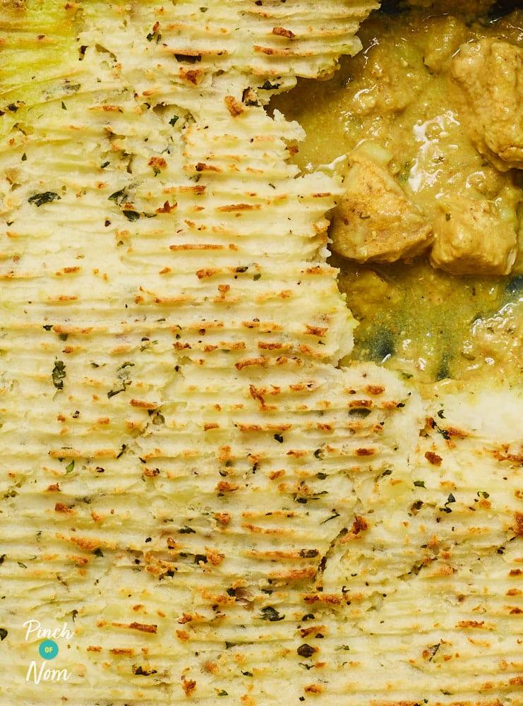 Chicken Korma Pie - Pinch of Nom Slimming Recipes