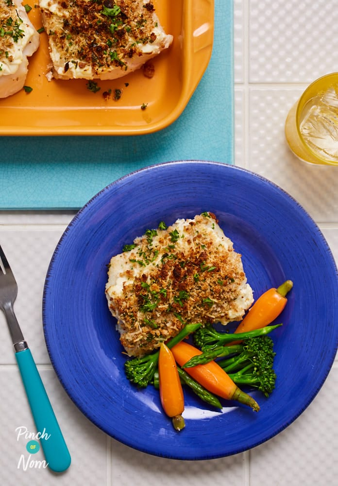 Herb Crusted Cod - Pinch of Nom Slimming Recipes