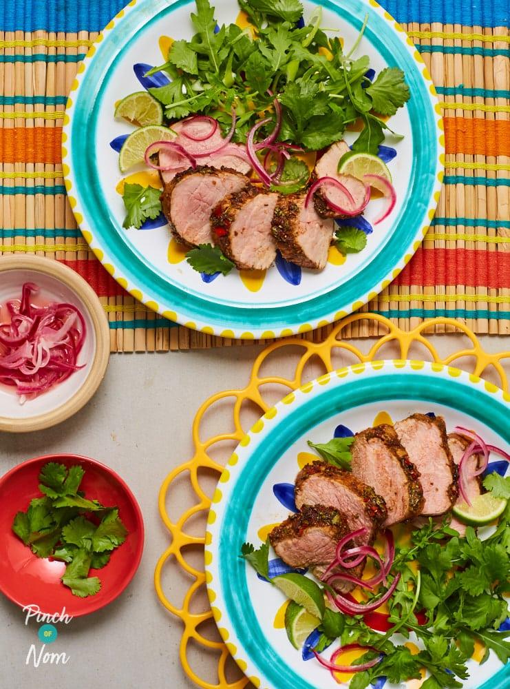 Mexican Pork Fillet - Pinch of Nom Slimming Recipes