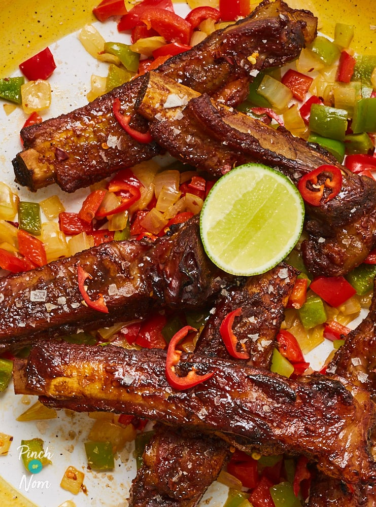 Salt and Pepper Ribs - Pinch of Nom Slimming Recipes